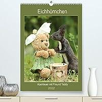Eichhoernchen - Abenteuer mit Freund Teddy (Premium, hochwertiger DIN A2 Wandkalender 2022, Kunstdruck in Hochglanz): Eichhoernchenbilder fuer Herz uns Seele (Planer, 14 Seiten )