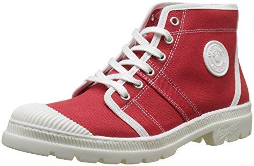 Pataugas AUTHENTIQ/T F2D, Desert Boots Femme, Rouge (Coquelicot), 42 EU