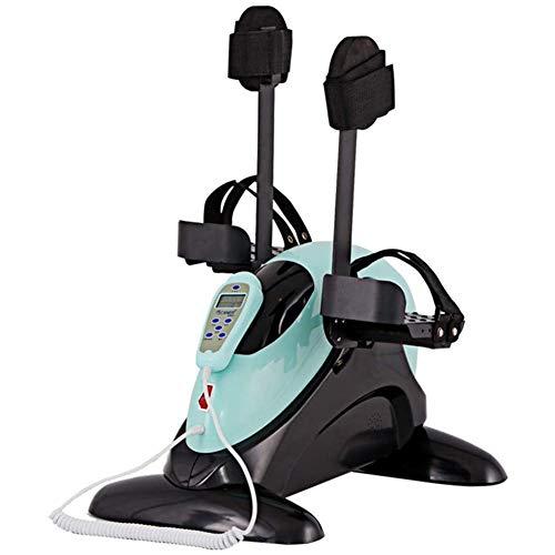 Mini Bicicleta Estática Pedales,Ejercitador Motorizado De Pedal Para Piernas Y Brazos, Mini Bicicleta Estática Con Soporte Para Protección De Piernas - Ejercitador De Pedal Eléctrico Para Personas M
