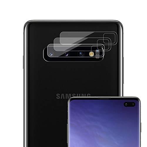 NUPO [3 Stück Kamera Linse Schutzfolie für Samsung Galaxy S10 / S10+, Kein Glas Objektiv Displayschutzfolie, Ultra dünn HD Kratzfest Film biegsame Kunststofffolie Folie für Galaxy S10/ S10 Plus +