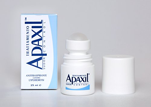 Trattamento Apaxil Sudor Control Ascelle 25ml - Apaxil Sweat Control Underarms Treatment 25ml