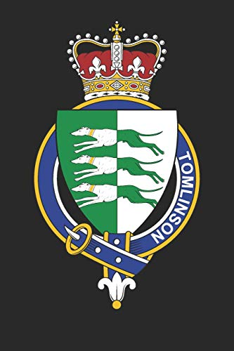 Tomlinson: Tomlinson Coat of Arms and Family Crest Notebook Journal (6 x 9 - 100 pages)