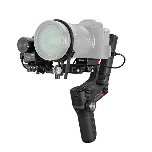 ZHIYUN WEEBILL-S [Oficial] Gimbal Estabilizador para cámaras DSLR, cámaras sin Espejo con Lentes Combinados (Zoom/Focus Pro Package)