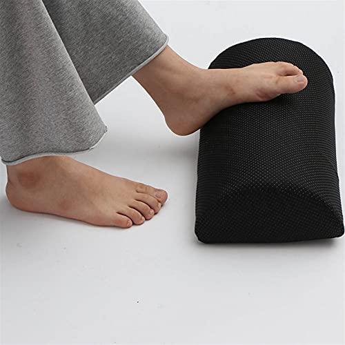 YSJJZDE Reposapiés Pies ergonómicos Soporte de cojín Reposapiés de pie Debajo del Escritorio Pies de Taburete Almohada de Espuma para el hogar Viajes de Silla de Trabajo de computadora