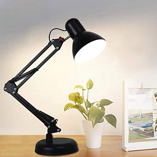 Woonkamer-tafellamp, hoekbank van smeedijzer, meerdere inbouwlampen, bureaulamp met oogbescherming, kleine bureaulamp