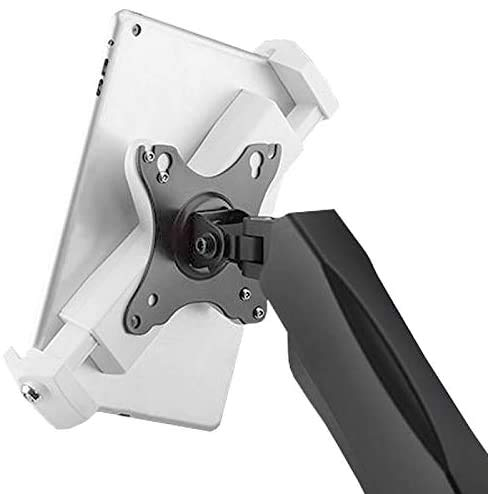 iMount PAD2901 Universal Tablet VESA Adapter for mounting compatible 8'-12.5' iPad/Android Tablet to VESA 100x100 monitor arm stand