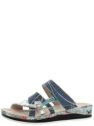 sandales - nu pieds laura vita 2574 brcuelo 059 jaune 40
