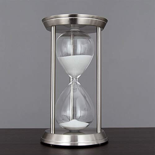 ZXZH Reloj de Arena Giratorio Color Bronce Relojes de Arena