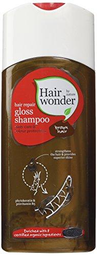 Hennaplus Shampoing réparateur Hairwonder pour cheveux châtain 200 ml