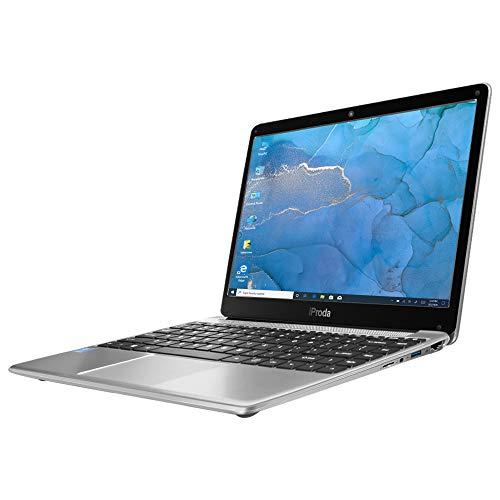 """Laptop iProda 14"""" Notebook Full HD 1920x1080, Intel Core i3-6157U, 8G RAM, 256G SSD, 2.4 GHz, Windows 10.1 Pro, USB 3.0, WLAN, HDMI, BT, ideale per utenti privati, studenti."""