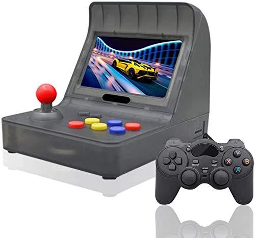 Anbernic Console di Giochi Portatile , Console di Giochi Retro Game Console 4.3 Pollici Schermo 3000 Giochi TV-out Videogioco Portatile per Bambini Regalo - Black