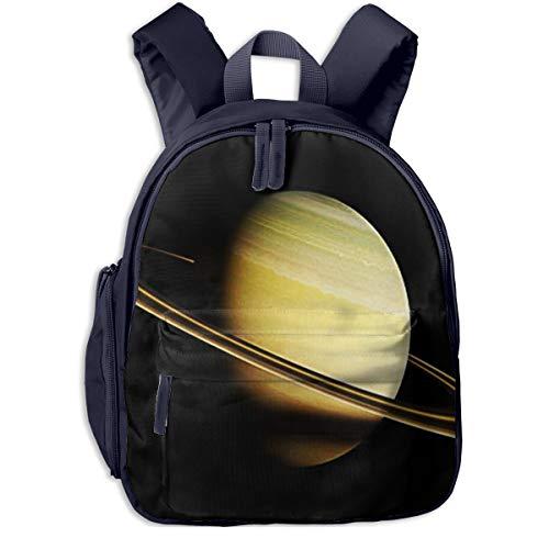 Mochilas Infantiles, Bolsa Mochila Niño Mochila Bebe Guarderia Mochila Escolar con Space Planet Saturn This para Niños De 3 A 6 Años De Edad