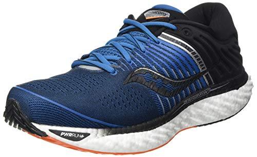 Saucony Triumph 17, Zapatillas de Atletismo Hombre, Azul, 43 EU
