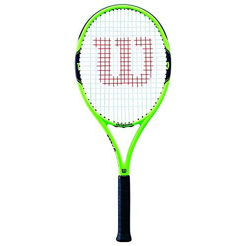Wilson Tennisschläger, Milos 100, Anfänger und Freizeitspieler, Griffstärke L3, Grün/Schwarz, WRT30040U3