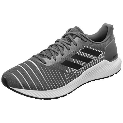 Adidas Solar Ride Zapatillas de correr para hombre con cordones acolchados