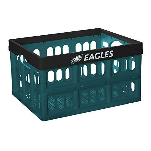 NFL Fabrique Innovations Collapsible Crate, Philadelphia Eagles