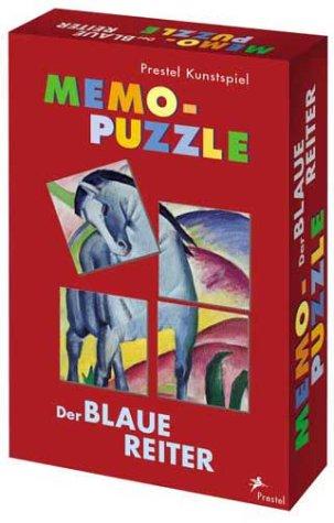 Prestel-Kunstspiel Memo-Puzzle. Der Blaue Reiter.