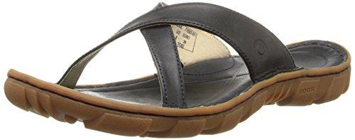 Bogs Women's Todos Slide Sandal, Black, 6.5 M US