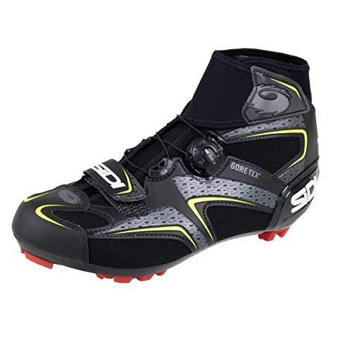 Frost Gore-Tex Mountain Bike Shoes (45, Black/Yellow)