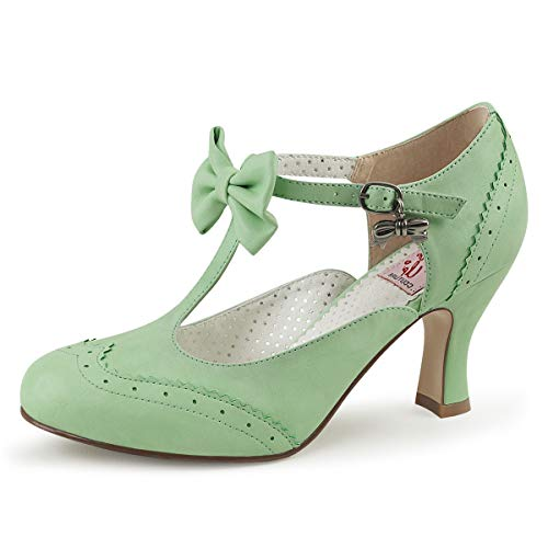 Pin Up Couture Spangen-Pumps Flapper-11 Mint Gr. 40