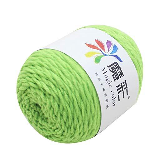 Xinger 5 strengen regenboog katoen haak trui sjaal lijn watten wol draad gezellige watten breien gevlochten haak, U