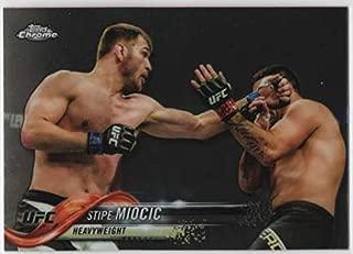2018 Topps Chrome UFC Image Variation #27 Stipe Miocic SP