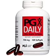 PGX by Natural Factors, Daily Ultra Matrix 750 mg, Helps Maintain Blood Sugar and Cholesterol Levels Already In the Normal Range, 120 softgels (40 servings)