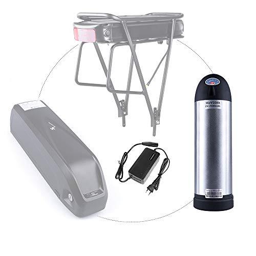 Electric Bike Kettle Battery 36V Lithium Li-ion Battery Water Bottle Shape Rechargeable Battery 10Ah for Electric Bike