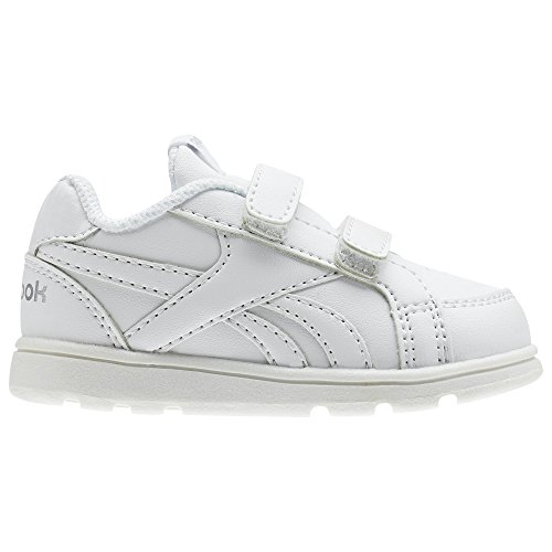 Reebok Royal Prime Alt, Zapatillas de Deporte Unisex niños, (White/Silver), 25 EU