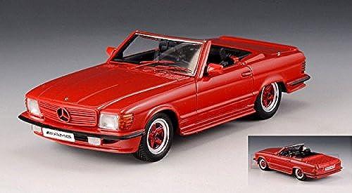 GLM MODELS GLM206101 MERCEDES AMG R107 ROADSTER 1980 rot 1 43 MODELLINO DIE CAST