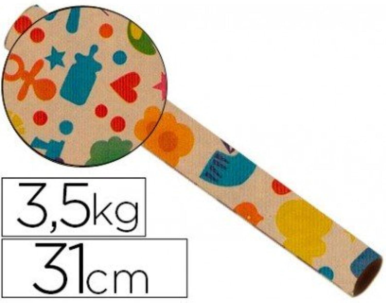 Fantasia Kraft Rolle 4302 Havana tapetenbordüren Spule Spule Spule 31 cm 3,5 kg B00PDR9SOY | Ausgewählte Materialien  96fae6