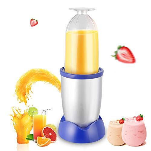 Upgrade Multifunctionele blender, citruspers Machine milkshake en Babyvoeding met roestvrij-stalen messen for Travel Smoothie Blender