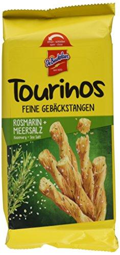 DeBeukelaer Uncle Cracker Tourinos Rosmarin und Meersalz, 8er Pack (8 x 0.125 kg)