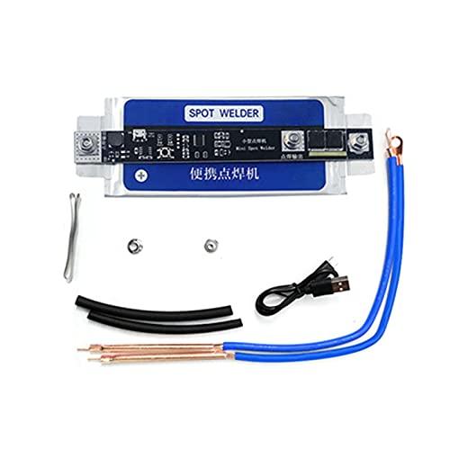 ZRNG Puntos DE BATERÍA PORTÁTIL DIY Soldador Plan Modelo PCB Placa de Circuito Control Máquina de Soldadura 18650 Soldadura por Manchas de Almacenamiento de energía (Color : Blue)