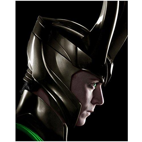 Tom Hiddleston 8x10 photo Avengers Thor side view...