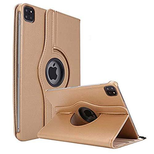 KATUMO Funda para New Apple iPad Pro 12.9 Pulgadas 2020 360°Rotating Funda con Soporte Funcion PU Leather Fundas para iPad Pro 12.9 2020 (iPad Pro 4th Generation) Carcasa