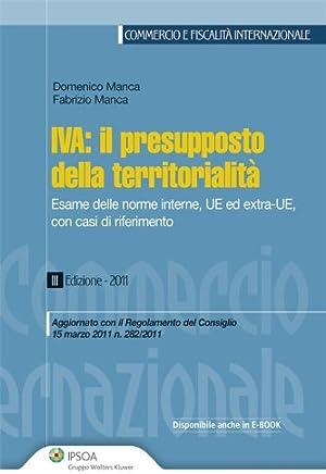 Iva: il presupposto della territorialità