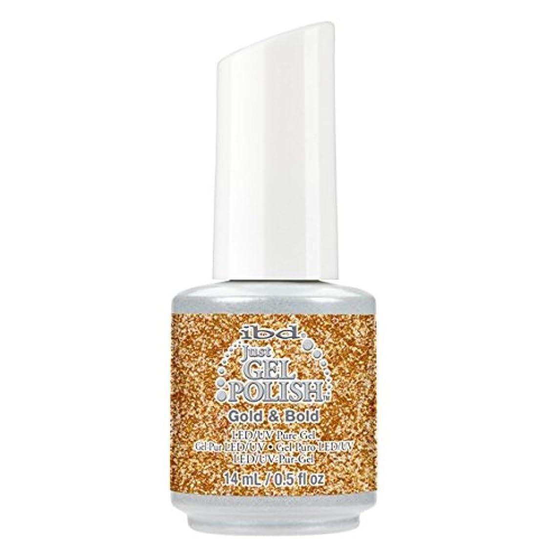 半径お茶衣装ibd Just Gel Polish - Diamonds+Dreams Collection - Gold & Bold - 14 mL / 0.5 oz