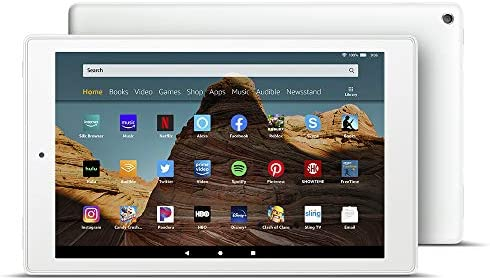 Fire HD 10 Tablet 10 1 1080p full HD display 32 GB White product image