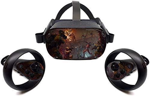 shooting game Stickers Skin for Oculus Quest Protective Durable and Unique Vinyl Decal Wrap product image