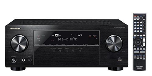 Pioneer VSX-830-K 5.2-Channel AV Receiver with Built-in Bluetooth and Wi-Fi (Black)