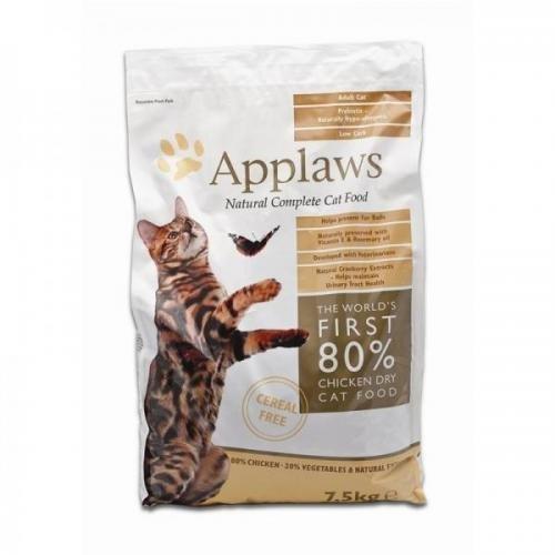 Applaws Katzentrockenfutter mit Hühnchen 7,5 kg, Trockenfutter, Katzenfutter
