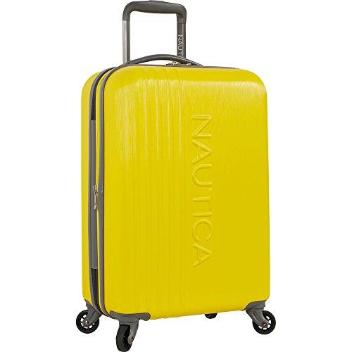 Nautica Ahoy Hardside Expandable 4-Wheeled Luggage, Yellow/Grey