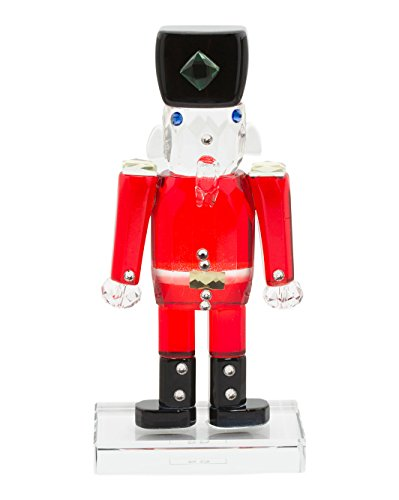 Simon Designs Crystal Nutcracker Prince Figurine Paperweight