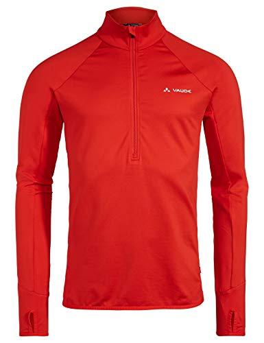 VAUDE Herren Livigno Halfzip Pullover, rot(Mars Red), XL