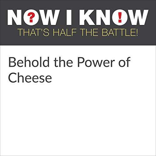 Behold the Power of Cheese audiobook cover art