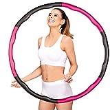 ActiveVikings Hula Hoop Reifen Ideal für Fitness, Gewichtsreduktion und Massage, 6-8 Segmente...