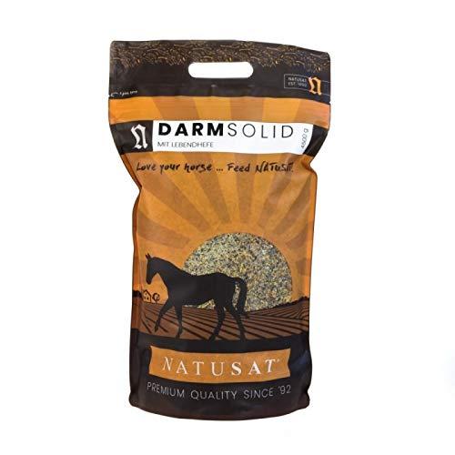 Natusat DarmoSolid + Lebendhefe 4500 g, Ergänzungsfutter für Pferde