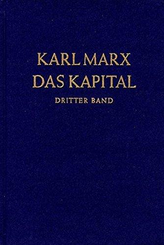 Das Kapital. Kritik der politischen Ökonomie: Das Kapital, Bd.3, Der Gesamtprozeß der kapitalistischen Produktion