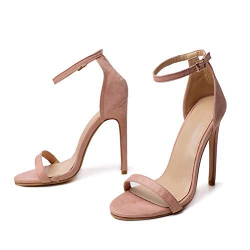 Zapatos Tacon Nude  marca Holibanna